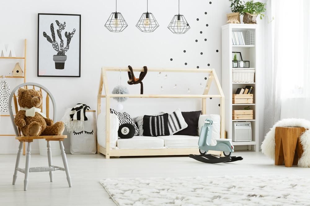детская комната в скандинавском стиле фото идеи акценты